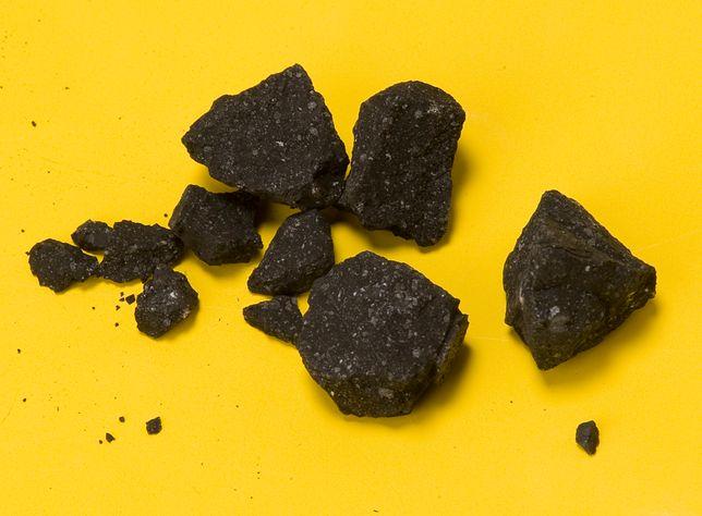 Chondryty węglowe zawierają materię organiczną