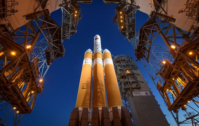 Rakieta, która wyniesie sondę w kosmos
