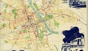 Tak rosła Warszawa! Mapy stolicy z XVII-XX wieku