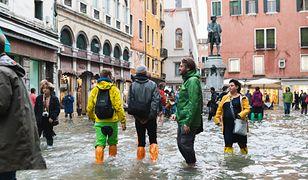W Wenecji odnotowano rekordowy poziom wody - 134 cm