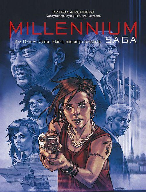 Millennium Saga 3 – Dziewczyna, która nie odpuszczała, wyd. Egmont 2019