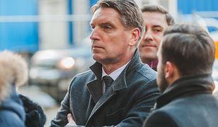 Tomasz Lis na pogrzebie Pawła Adamowicza w Gdańsku