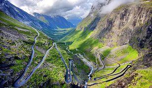Drabina Trolli - jedna z najbardziej krętych dróg Europy