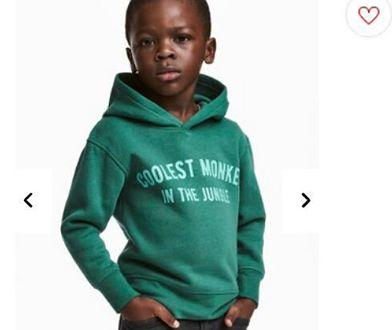 Zdjęcie, które pojawiło się na stronie H&M