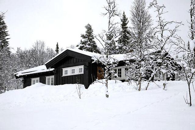 Góralska chata w stylu rustykalnym