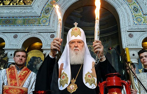Patriarcha Kijowa Filaret prosi UE o misję pokojową na wschodzie Ukrainy