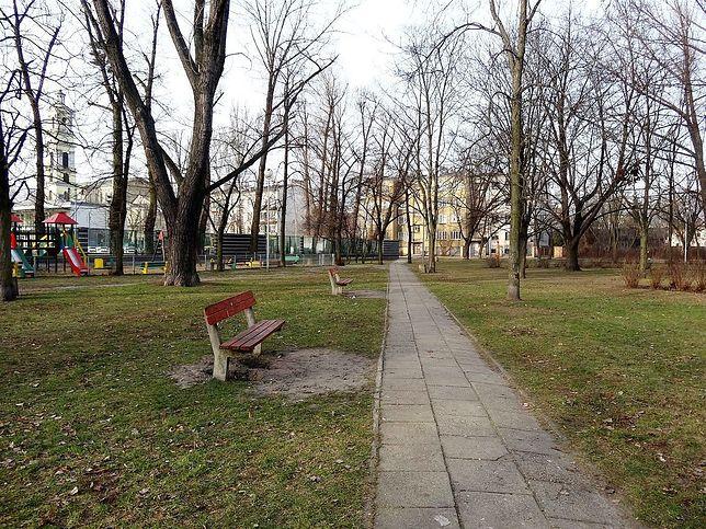 Czy z powodu budowy Trasy Świętokrzyskiej zniknie park?