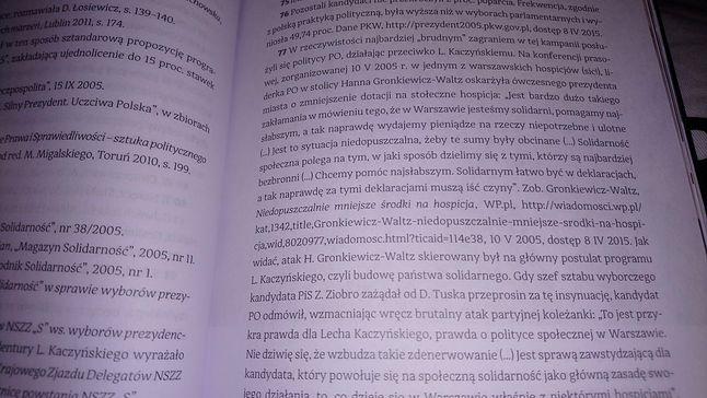 tekst - druk