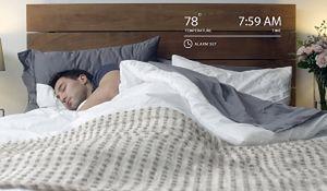 Nowoczesna sypialnia ułatwiająca zasypianie