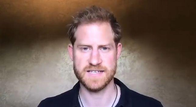 Książę Harry zaapelował do internautów w krótkim wideo