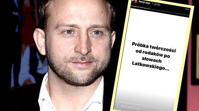 """Borys Szyc opublikował wiadomości, jakie dostaje po emisji przez TVP1 """"Nic się nie stało"""". Włos się jeży"""