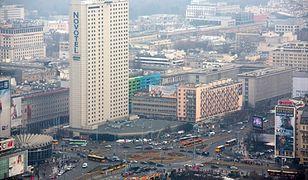 Smog Warszawa - jakość powietrza 17 stycznia.