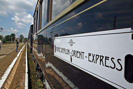 Najbardziej luksusowy pociąg świata w Krakowie