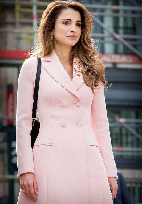 Wygląda jak modelka? To królowa Rania