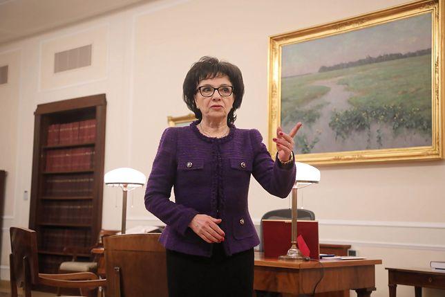 Marszałek Sejmu Elżbieta Witek