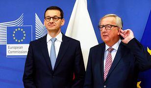 """Rozmowa Morawiecki-Juncker bez efektów. """"Nie było żadnego spotkania"""""""