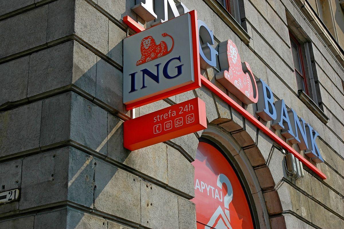 Problemy z bankowością w ING. Awaria została usunięta