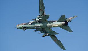 W Su-22 miał ulec awarii silnik, który pilot ostatecznie uruchomił