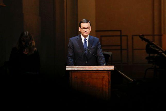 """Zgrzyt w przemówieniu Mateusza Morawieckiego w Berlinie. """"Sueddeutsche Zeitung"""" zabiera głos"""