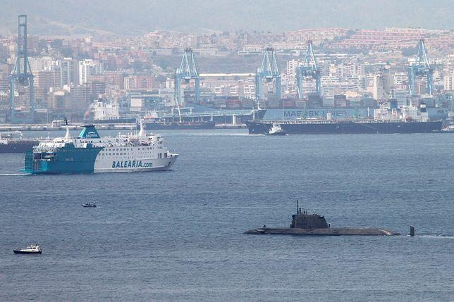 Hiszpania naruszyła wody terytorialne Gibraltaru