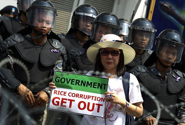 W Bangkoku trwają antyrządowe protesty