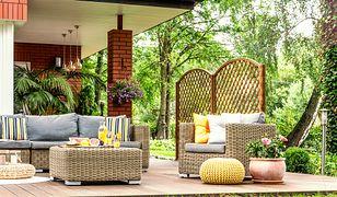 Urządź salon w ogrodzie