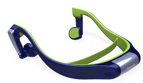 Słuchawki z kostnym przewodnictwem dźwięku