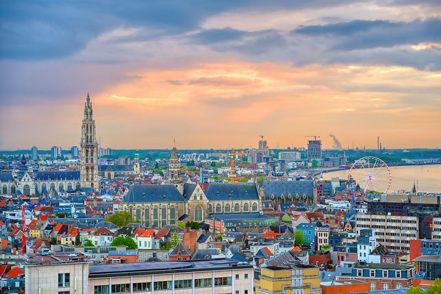 Antwerpia to jedno z najpiękniejszych miast w Belgii