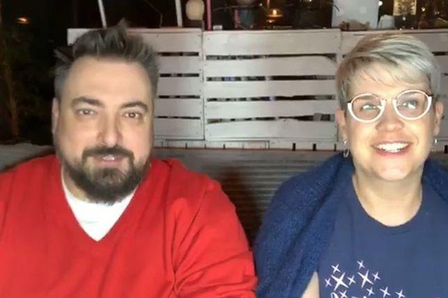 Tomasz Sekielski pokazał żonę. Nagrywa z nią internetowy program