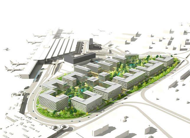 Projekt kompleksu biznesowego Chopin Airport City [WIDEO]