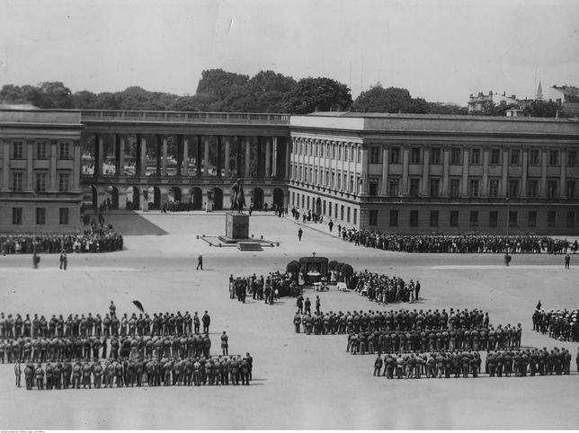 Odbudowa Pałacu Saskiego. Trwają prace nad specjalną ustawą