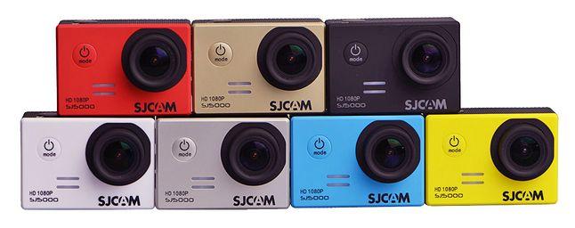 Linia SJ5000 dostępna w 7 wersjach kolorystycznych (źródło: sjcam.com)