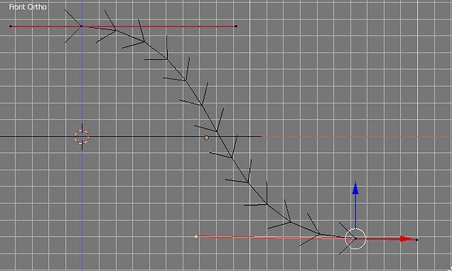 Zmiana kształtu kszywej Beziera w trybie edycyjnym