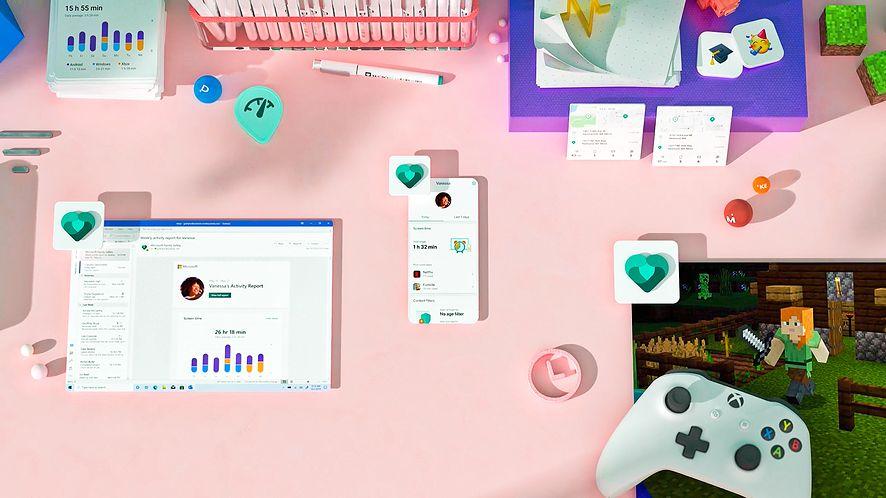 Microsoft Family Safety, nowa aplikacja rodzicielska, fot. Microsoft