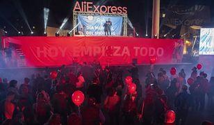Na otwarcie pierwszej w Europie placówki Aliexpress przyszły tłumy