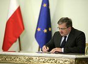 Wóycicka: prezydent podpisze nowelizację ustawy o emeryturach i rentach