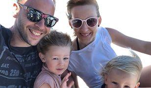 Tomasz Krzystek wraz z rodziną