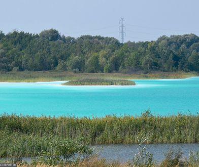 """Toksyczne """"Karaiby"""" pod Koninem. Jezioro turkusowe to śmiertelna pułapka"""