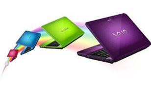 Nowe, stylowe i niezwykle barwne notebooki VAIO