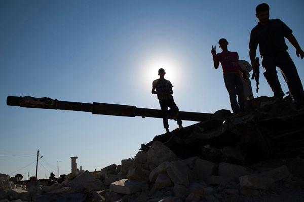 Konflikt w Syrii trwa już od marca 2011 r.