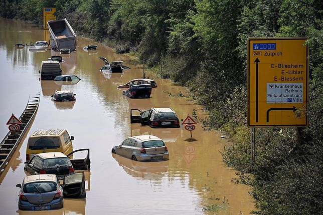 Rośnie dramatyczny bilans powodzi w Niemczech