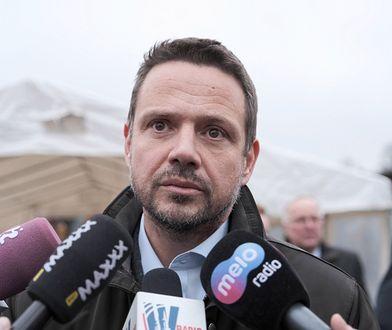 Prezydent Warszawy Rafał Trzaskowski (PO-KO)