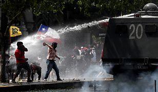 """Potężne protesty w Chile. Polak: """"Doszło do eksplozji gniewu"""""""