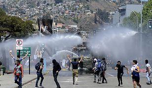 Chile. Milion manifestantów na ulicach Santiago protestowało przeciw rządowi