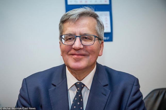 Bronisław Komorowski nie wycofuje się ze swoim słów