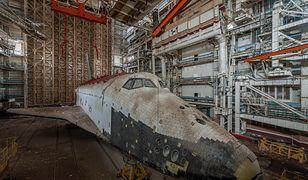 Kazachstan - opuszczone wahadłowce kosmiczne