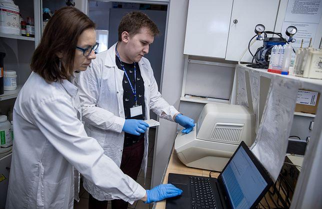 Koronawirus w Polsce. Naukowcy Polskiej Akademii Nauk stworzyli test diagnostyczny