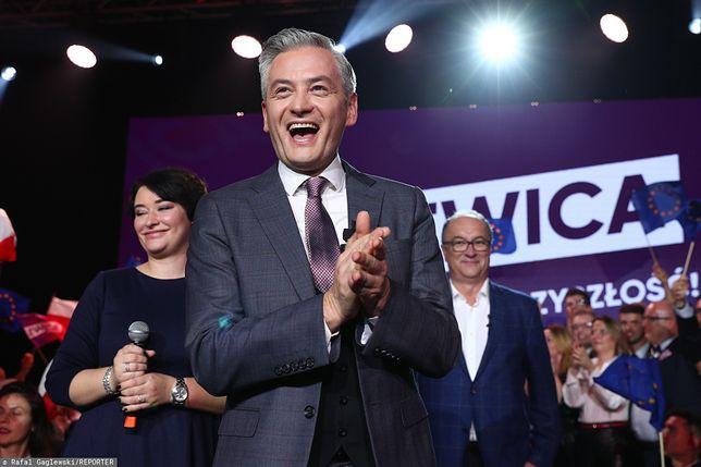 Wyniki wyborów 2019. Robert Biedroń o dalszych losach Lewicy