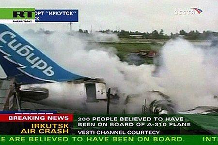 Dwoje Polaków przeżyło katastrofę samolotu w Rosji