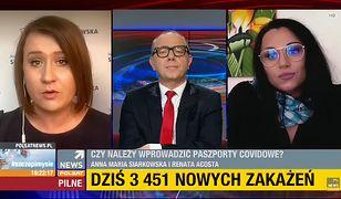 """Pyskówka w Polsat News. """"Zwyczajnie pani kłamie!"""""""